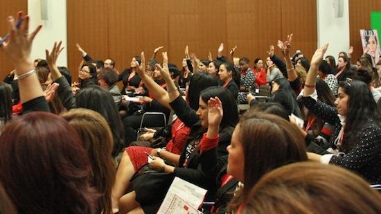 El RSM Signature event, un programa de desarrollo de liderazgo que despierta un nivel de compromiso con la propia carrera sin precedentes. En la fotografía, el evento en MetLife, NYC.
