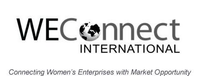 We Connect International es una organización que asiste a mujeres emprendedoras en el proceso de vender productos y servicios a grandes corporaciones.