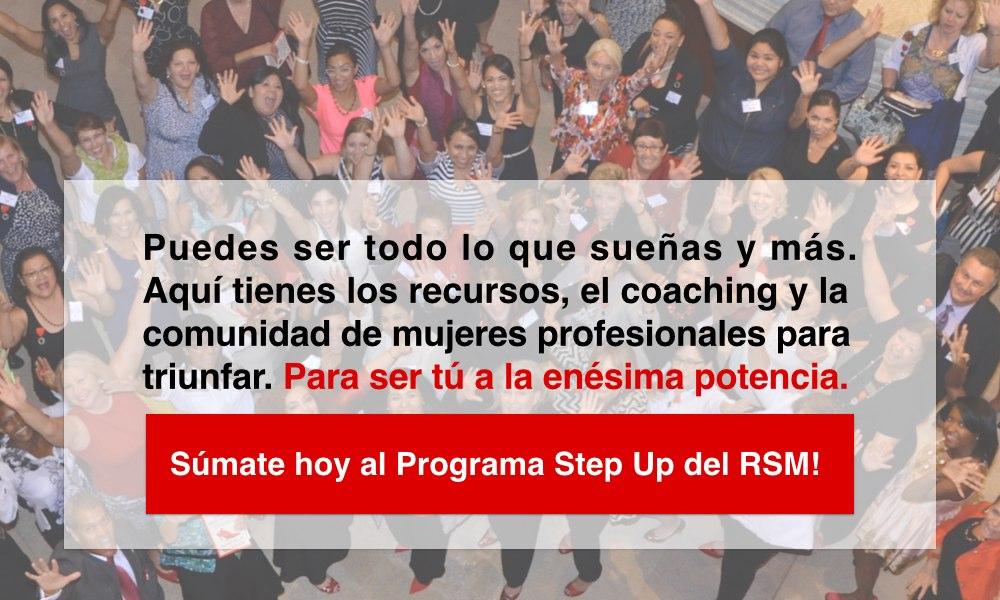 Sumate al Programa Step Up del RSM
