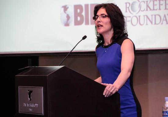 """A las mujeres emprendedoras Belisa de las Casas les dice: """"Empiecen por tener un plan de negocios bien hecho""""."""