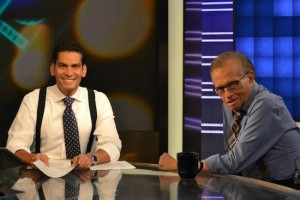 Ismael Cala y Larry King