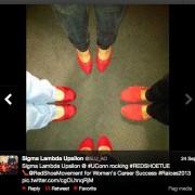 Martes de Zapatos Rojos en Sorority Sigma Lambda Upsilon