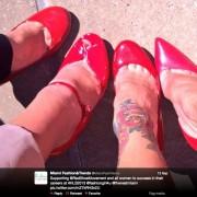 Martes de Zapatos Rojos en el Hispana Leadership Summit