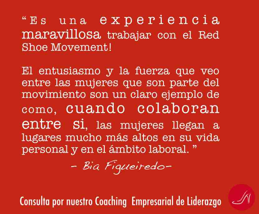 Coaching empresarial de liderazgo del RedShoeMovement