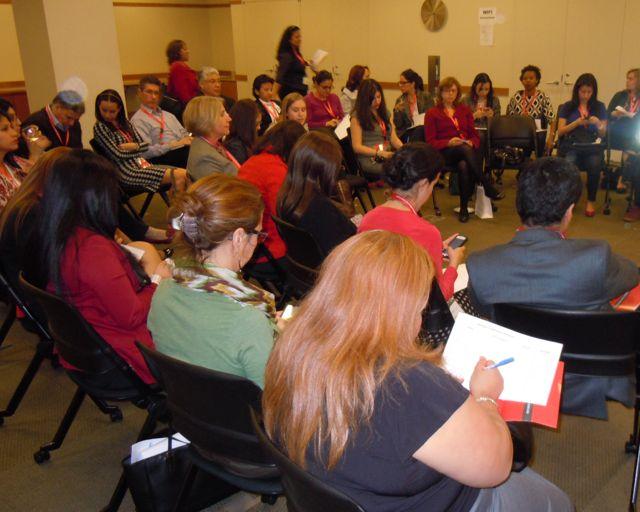 Dinámica de liderazgo experiencial en evento del RSM