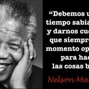 Frase inspiradora de liderazgo de Nelson Mandela