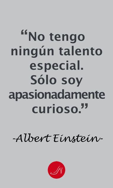Frase inspiradora de Albert Einstein | Como Encontrar tu Pasión con estas Simples 7 Preguntas