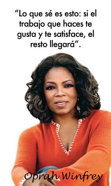 Cuando amas lo que haces el tiempo pasa volando. Frases sobre pasion de Oprah Winfrey. Como Encontrar tu Pasión con estas Simples 7 Preguntas