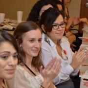 Reacción de la audiencia en evento de Tesoro corp. organizado por NSHMBA