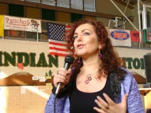 Mariela Dabbah conferencista motivacional en escuela en Texas