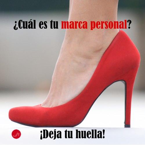 Cual es tu marca personal - Un zapato rojo on la pregunta