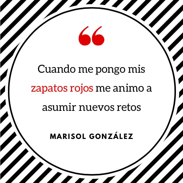 Frase inspiradora de Marisol González