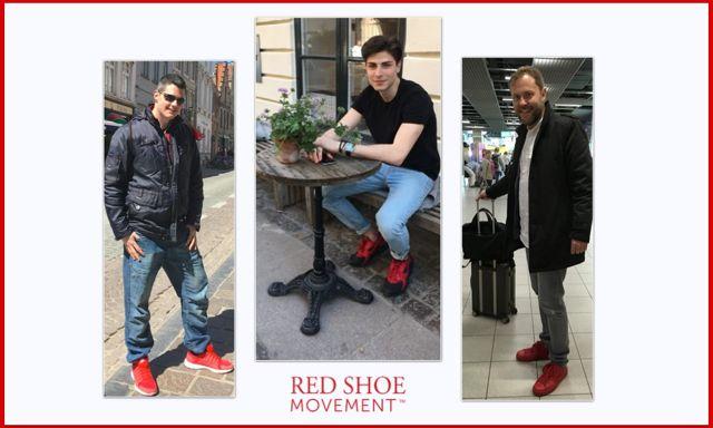 Por todo el mundo, los martes, los zapatos rojos significan respaldo al crecimiento profesional de la mujer.