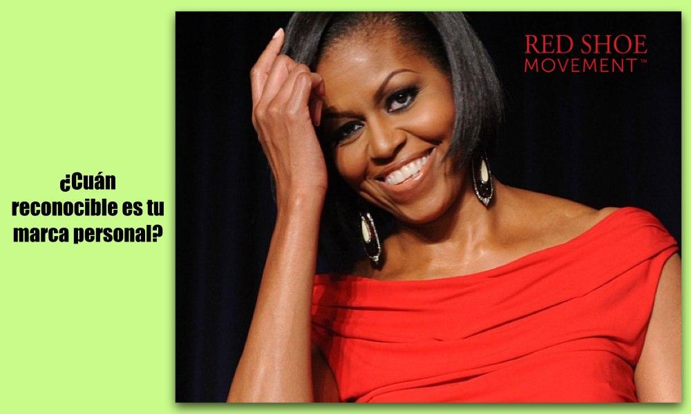 La Primera Dama Michelle Obama tiene una marca personal sumamente clara y reconocible. ¿Cuán reconocible es la tuya?