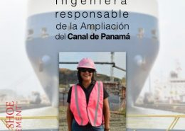 Ilya Marotta ingeniera responsable de la Ampliacion del Canal de Panama