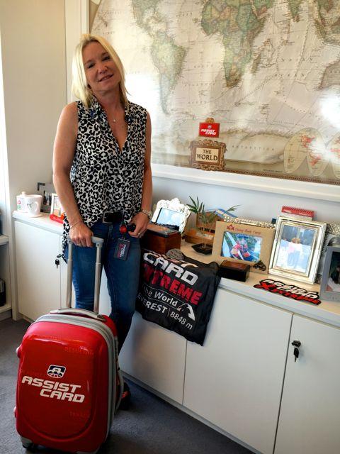 Alexia Keglevich, siempre lista para viajar a evangelizar la cultura de ayuda de ASSIST CARD
