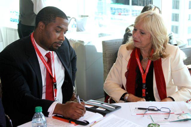 Cuando piensas en una conversación difícil como una conversación necesaria es más fácil animarte a tenerla. Foto tomada en el RSM Signature Event NYC.