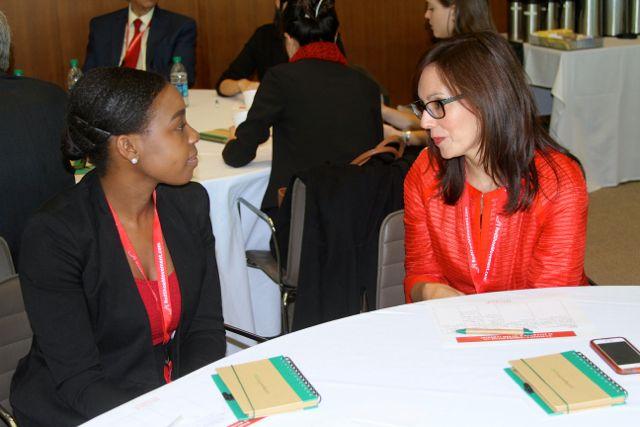 Prepararte para conversaciones difíciles en el trabajo te ayuda a navegarlas con éxito. Foto tomada en el RSM Signature Event.