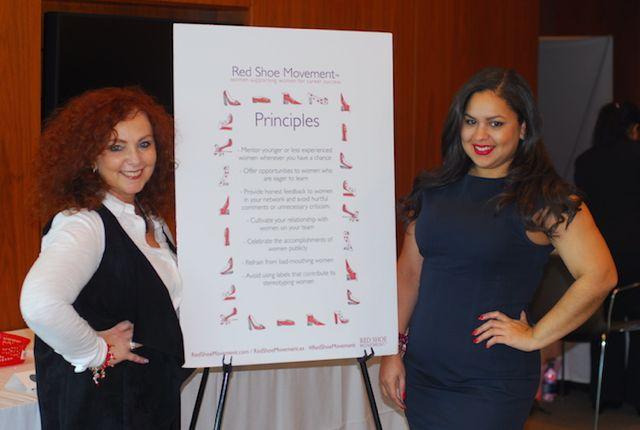 Sigue los 7 Principios del Red Shoe Movement. Ayudan a cambiar conducta y actitudes.