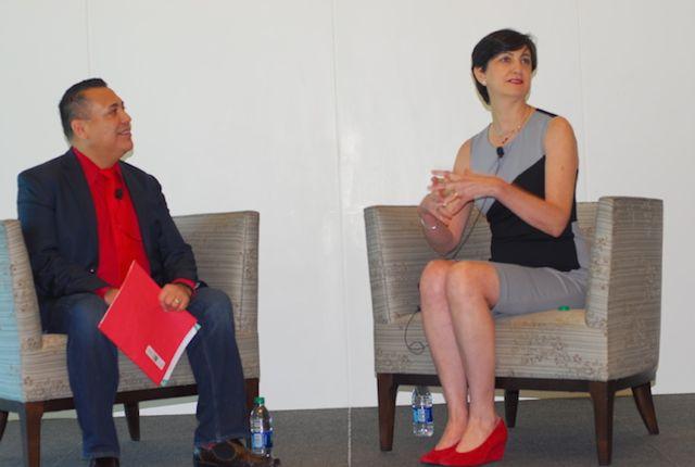 Marta Tellado, CEO de Consumer Reports en el Q&A con Ali Curi, presidente de HPNG