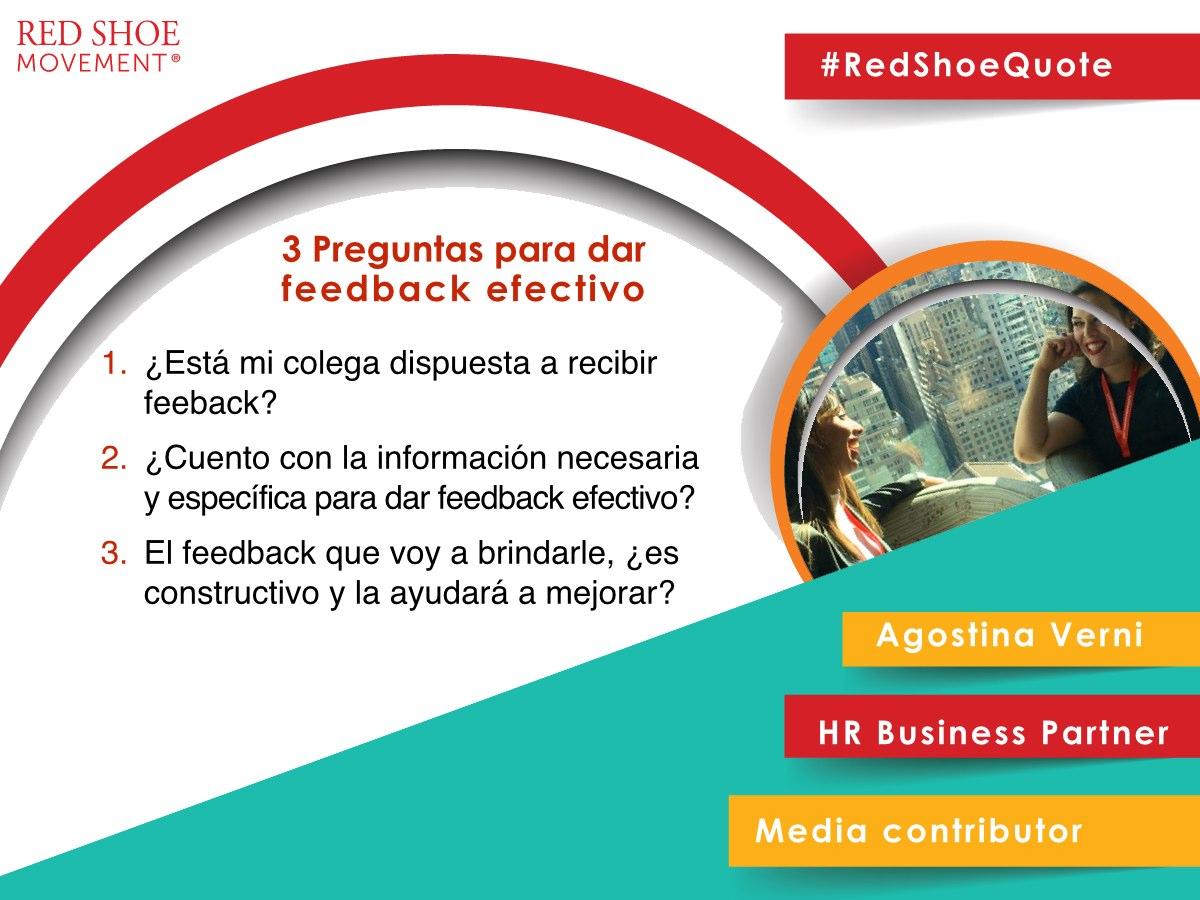 Antes de dar feedback a un colega, es bueno hacerse tres preguntas claves.