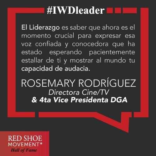 Rosemary Rodriguez nos inspira rompiendo estereotipos de género