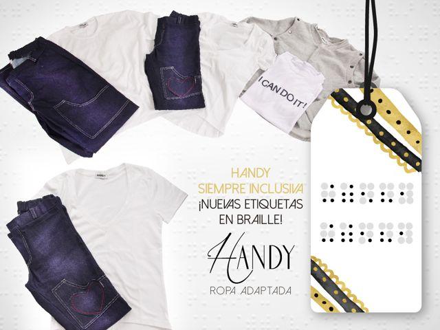 Una línea de ropa especial para personas con varios tipos de discapacidad.