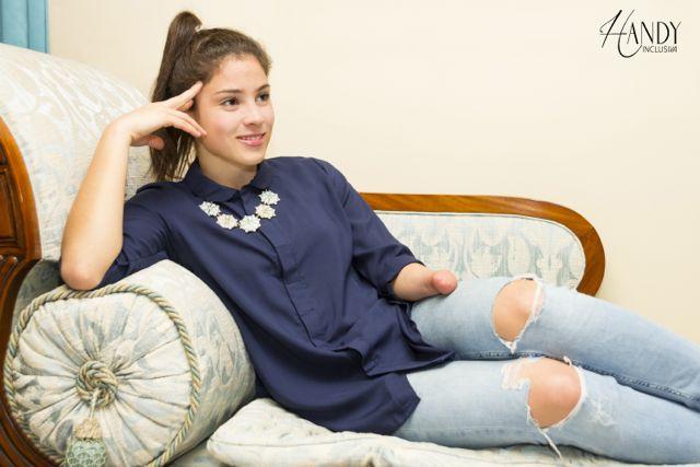 """Para la emprendedora de Handy Inclusiva, el tema no sólo era crear ropa para personas con discapacidad sino que fuera """"fashionable""""."""