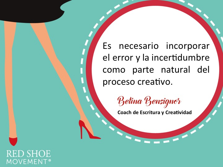 No castigues el error. Es parte natural del proceso creativo. Nada mejor para aumentar la creatividad que errar temprano y aprender del error.