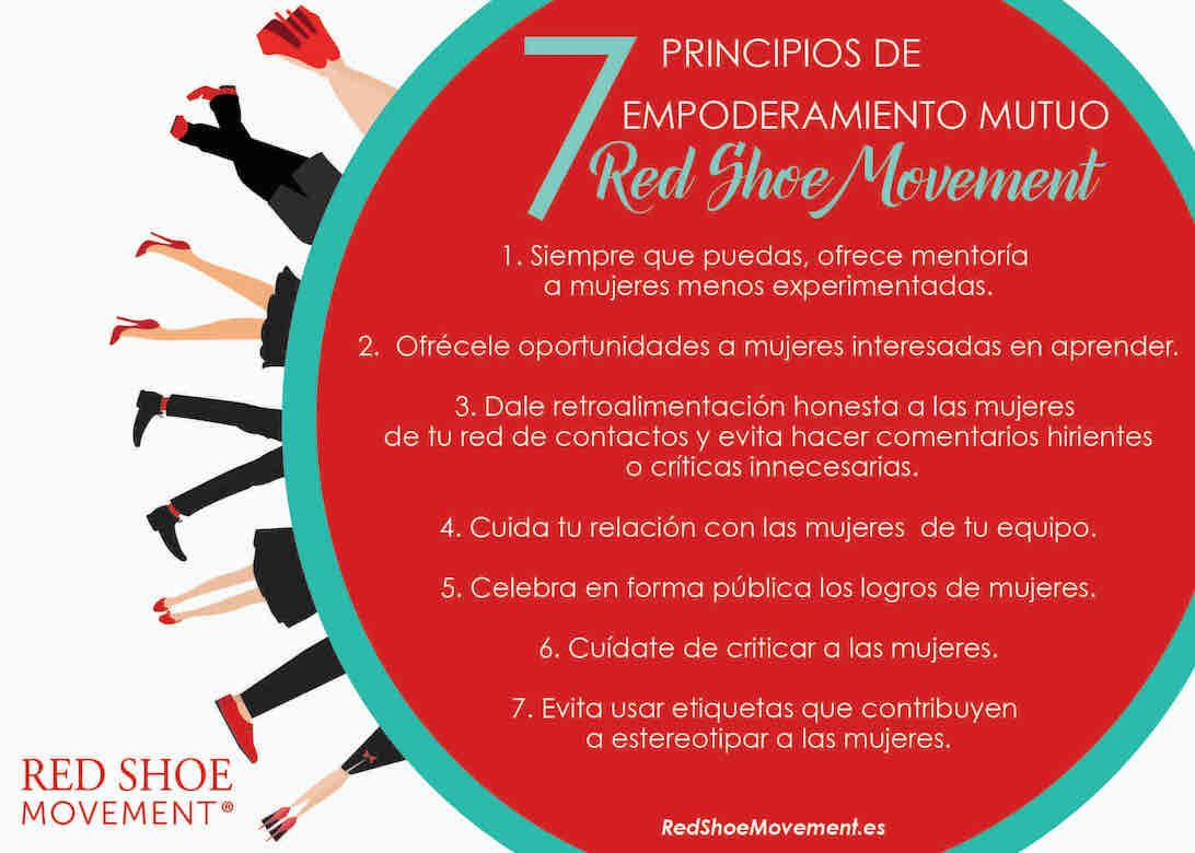 7 Principios del Red Shoe Movement