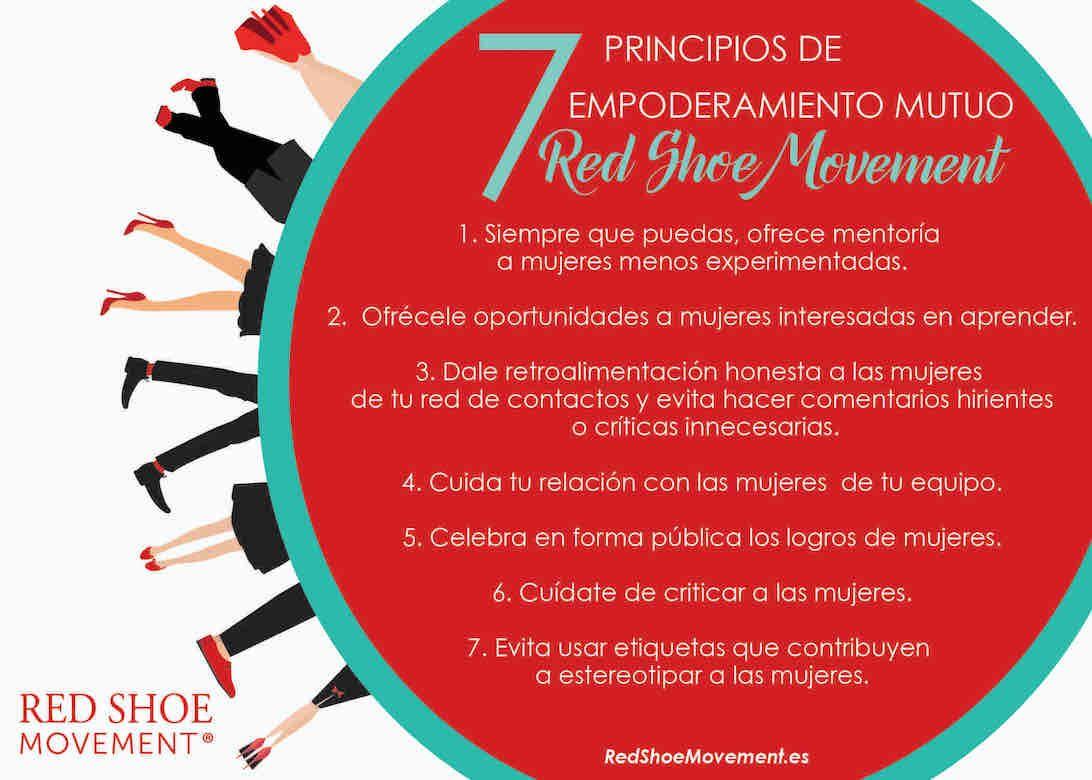 7 Principios del Red Shoe Movement