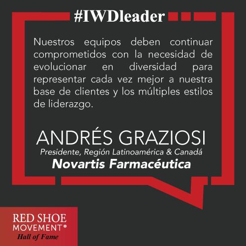 Andres Graziosi, siempre apoyando la inclusión