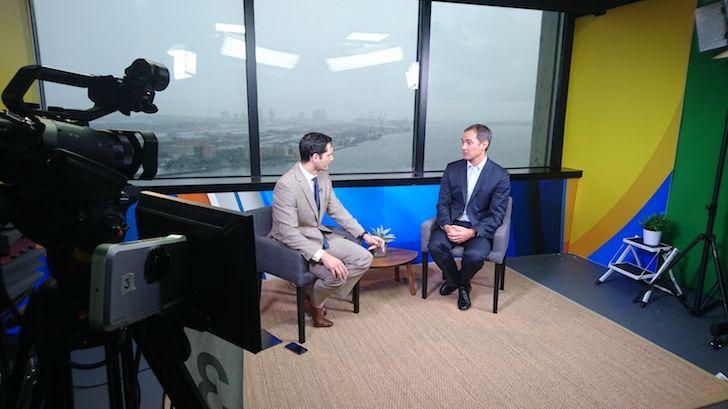 Siempre en evolución, Andres Graziosi comparte su vision en entrevista televisiva