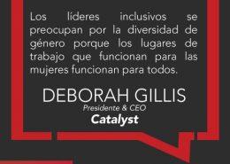Deborah Gillis Frase Inspiradora
