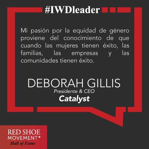 Deborah Gillis Frase Motivadora
