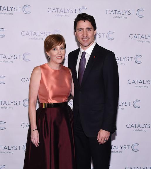 Deborah Gillis y Justin Trudeau, Primer Ministro Canadiense