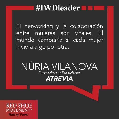 Nuria Vilanova una frase para inspirarte a extender tus redes