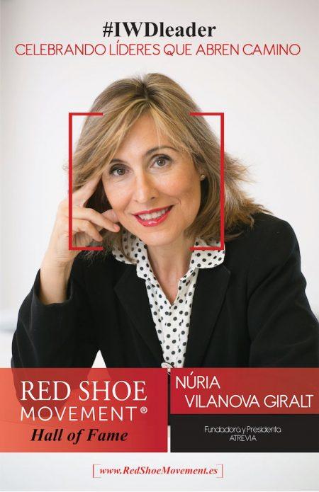 Nuria Vilanova Salon de la Fama 2018