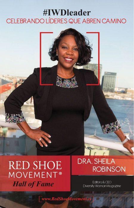 Sheila Robinson, una de nuestras líderes honradas en el Salón de la Fama 2018
