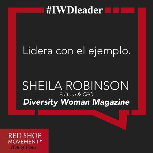 Una frase para recordar de Sheila Robinson