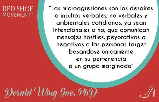 Definicion del Dr.Sue sobre Microagresiones