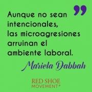 Microagresiones frase de Mariela Dabbah