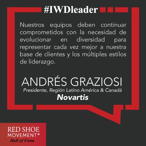 Andrés Graziosi, un líder que usa su influencia para impactar la cultura de su organización.