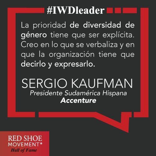 Sergio Kaufman es un gran agente de cambio. ¿Qué otros hombres conocés que ejerzan su liderazgo para acelerar la representación de mujeres en puestos de decisión?