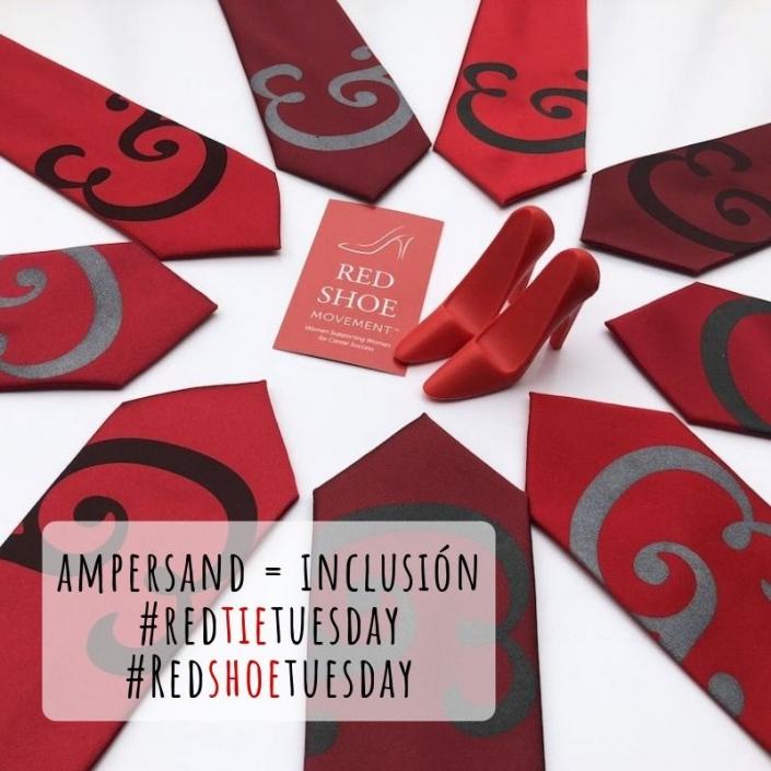Nuestra nueva corbata del Ampersand creada con Cyberoptix permite a cada hombre reflejar su estilo!