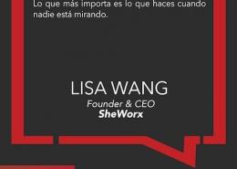 Lisa Wang, CEO, SheWorx, está nivelando el campo de juego para la mujer emprendedora.