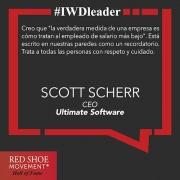 Scott Scherr inspira a sus asociados con una visión inclusiva.