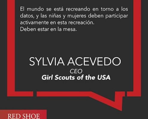 Sylvia Acevedo pasó de ser ingeniera espacial a ser CEO de una de las organizaciones más veneradas de los E.E.U.U.