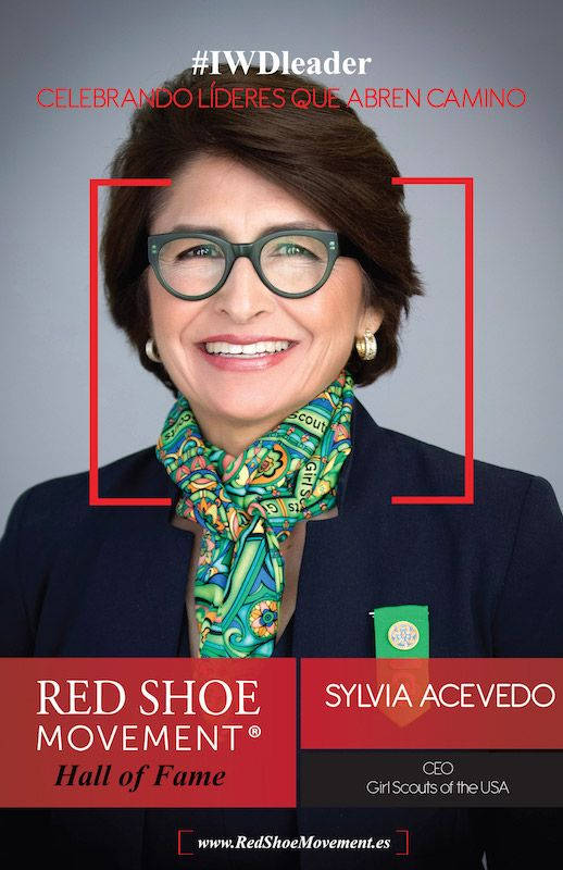 Sylvia Acevedo, CEO, Girl Scouts of the USA