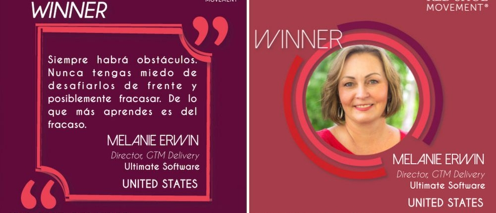 Melanie Erwin Ultimate Software frase